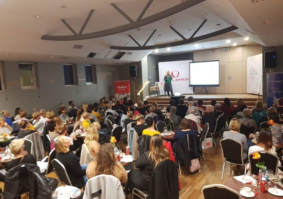 Spotkanie edukacyjne dla kobiet w AMICA Wronki