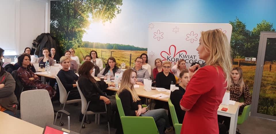 Spotkanie edukacyjne dla Kobiet pracujących w firmie Volvo Trucks Polska