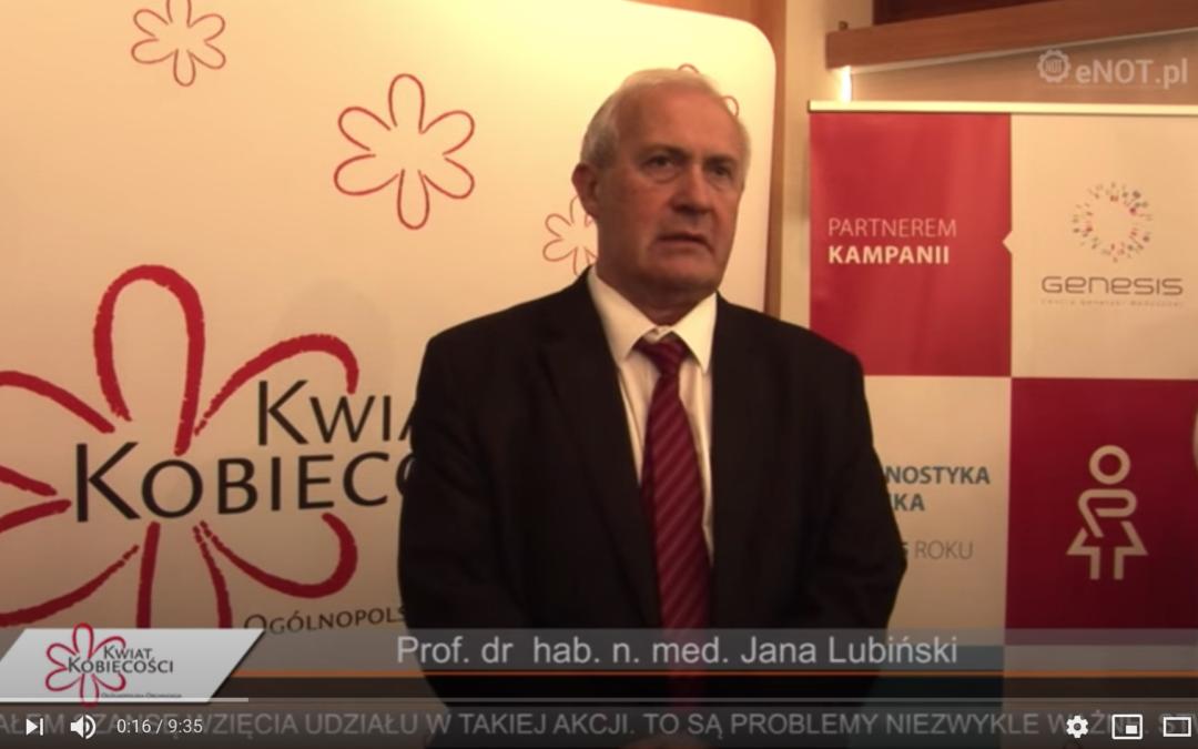 """Ogólnopolska Kampania Społeczna ,,Diagnostyka jajnika"""" 2015"""