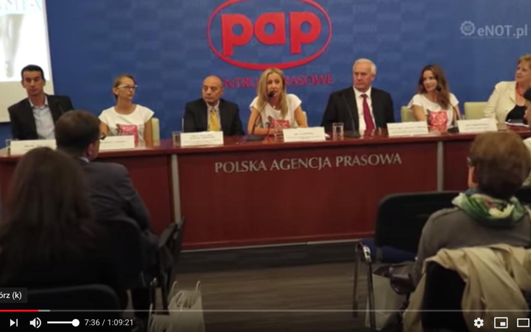 """Kampania Społeczna """"Diagnostyka jajnika"""" – Konferencja Prasowa PAP"""