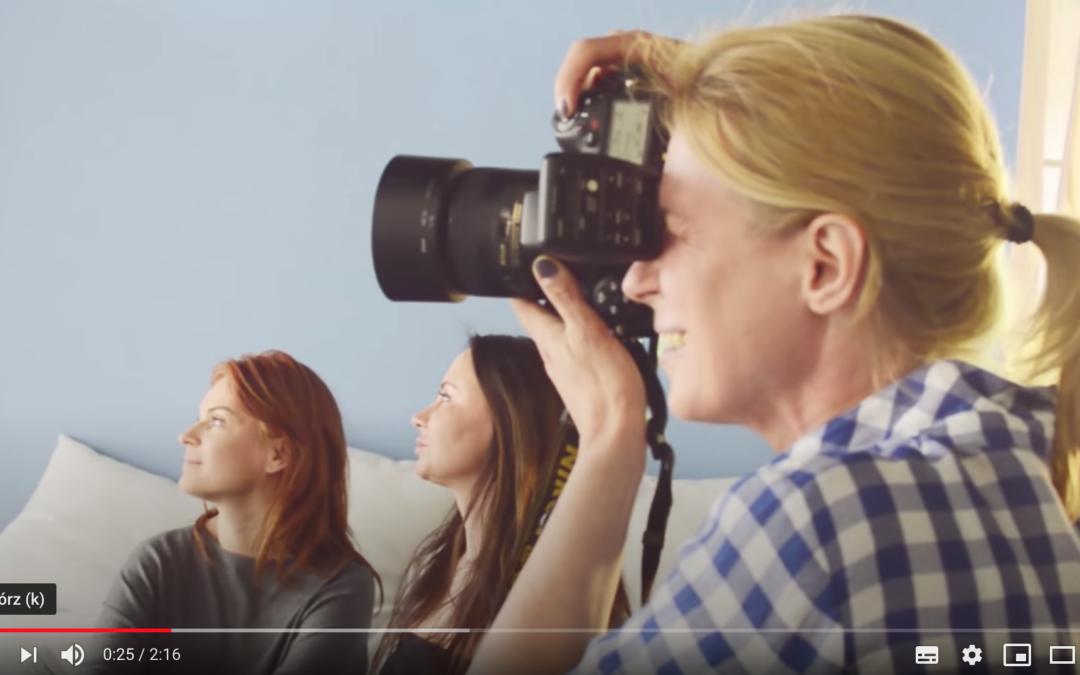"""Making of sesji zdjęciowej I. odsłony Kampanii """"Diagnostyka jajnika"""" 2015"""