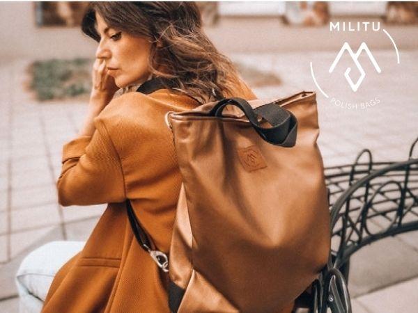 Militu Polish Bags – witamy w gronie przyjaciół Kwiatu Kobiecości