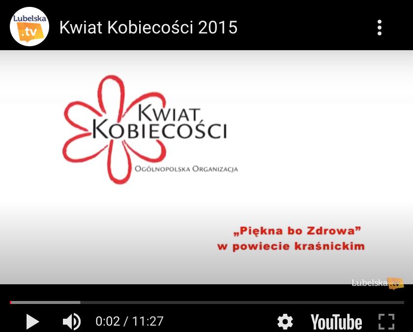 Miss Polski zachęcała do badań cytologicznych w Kraśniku