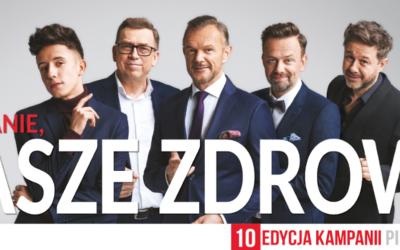 """Kampania społeczna """"Piękna, bo zdrowa"""" 2019 – X. edycja"""