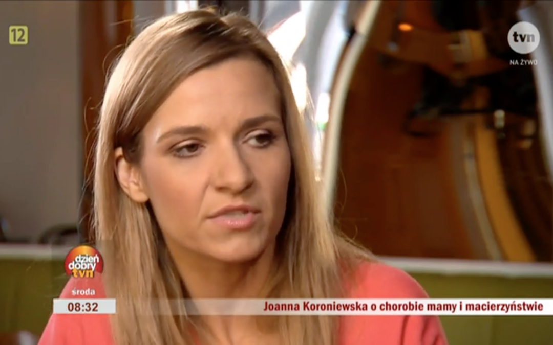 "Joanna Koroniewska ambasadorką akcji ""Piękna, bo Zdrowa"""