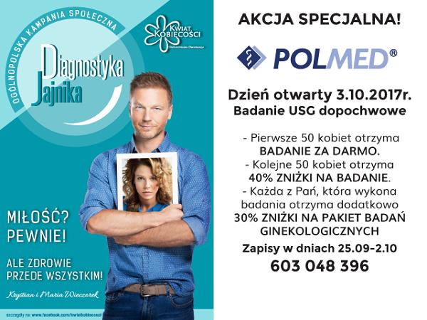 Akcja specjalna- Dzień otwarty w POLMED