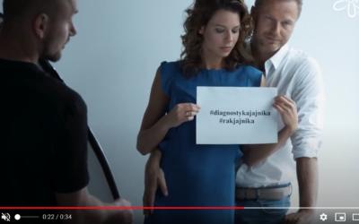 """Trailer sesji zdjęciowej – kampania """"Diagnostyka Jajnika"""" 2017"""
