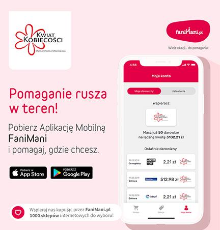 FaniMani.pl – Pomaganie rusza w teren! Teraz możecie nam pomagać gdzie i kiedy chcecie