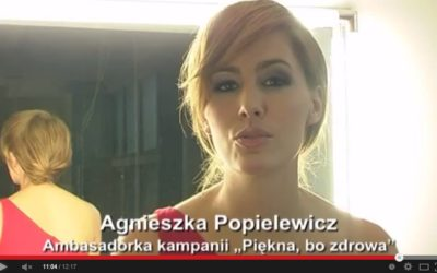 """Modnie być zdrowym – Ogólnopolska Kampania Społeczna """"Piękna, bo zdrowa"""" 2012"""