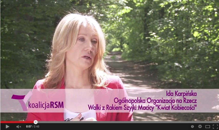 Powstanie Koalicji RSM – wypowiedź Idy Karpińskiej Prezes Kwiatu Kobiecości