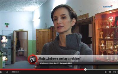 Lubawa walczy z rakiem, a razem z nią nasza Ambasadorka Viola Kołakowska