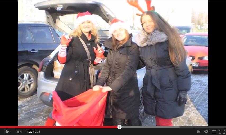 Jedna z naszych najprzyjemniejszych akcji – Akcja Św. Mikołaj 2012!