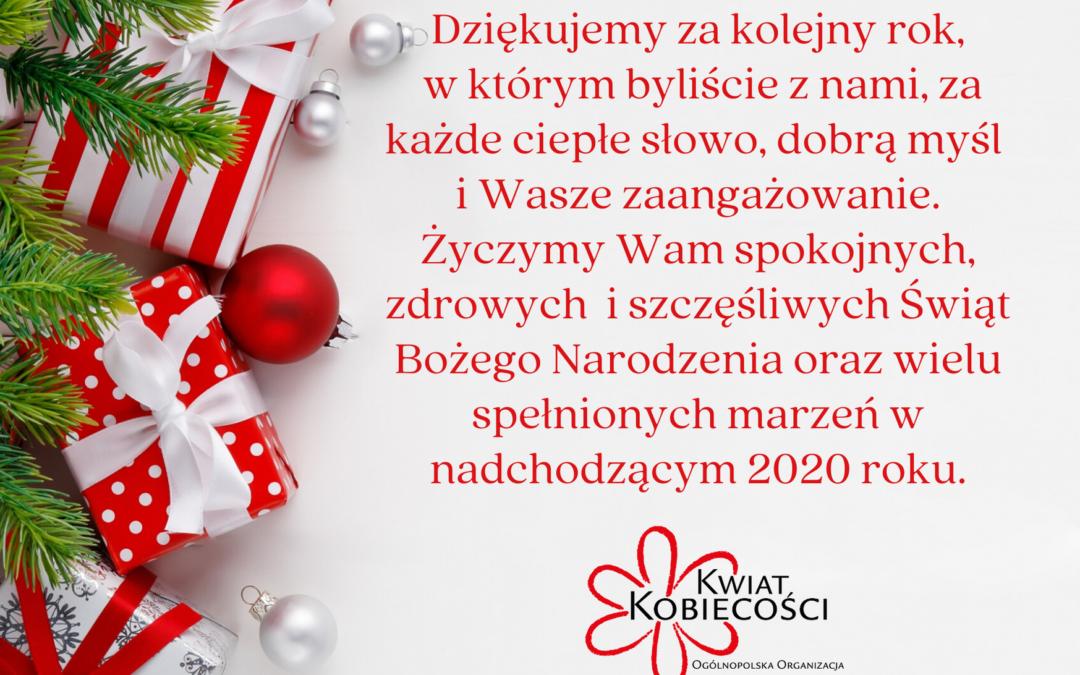 Serdeczne życzenia Świąteczne!