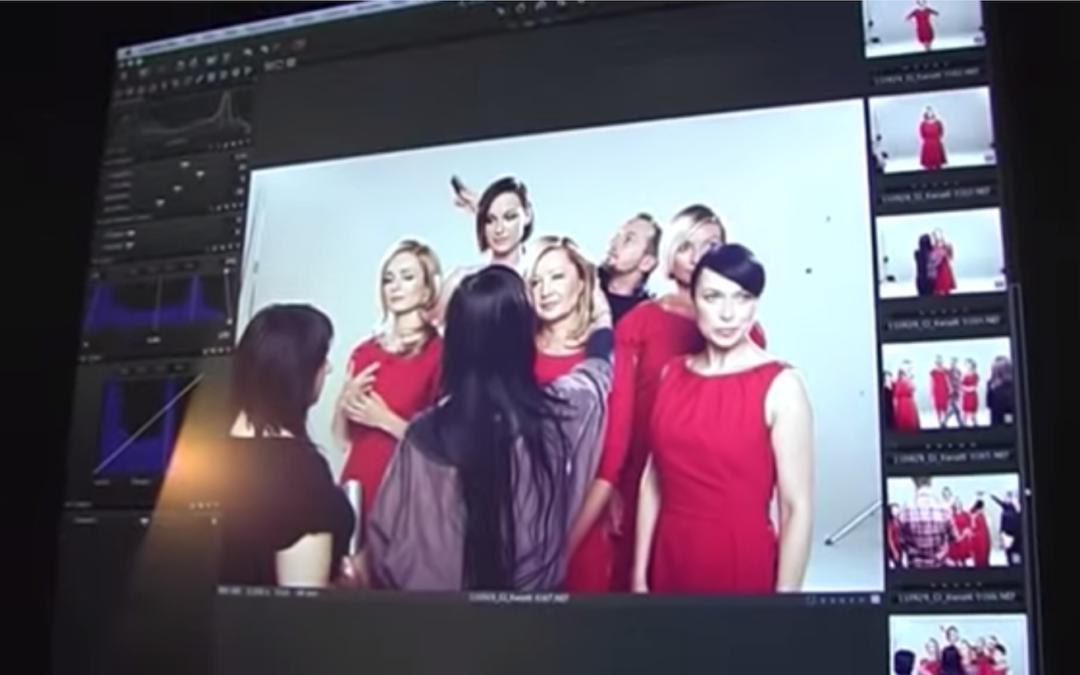 """Making of sesji zdjęciowej Ogólnopolskiej Kampanii Społecznej """"Piękna, bo zdrowa"""" 2012"""