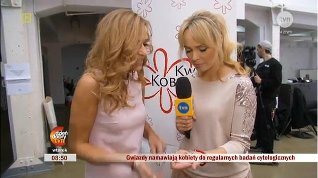 """Wywiad w Dzień Dobry TVN na sesji """"Piękna, bo zdrowa"""""""