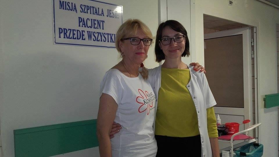 Spotkanie w Wojewódzkim Szpitalu Specjalistycznym w Olsztynie